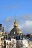 invalides Παρίσι Στοκ Φωτογραφία