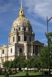 invalides Παρίσι Στοκ Εικόνα
