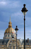 Invalides. Royalty Free Stock Photo
