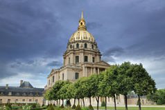 Invalides. Stock Photography