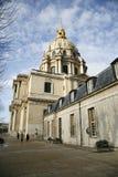 Invalides di Les, Parigi Fotografia Stock