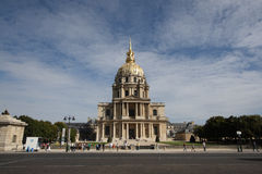 Invalides do DES da abóbada Fotografia de Stock