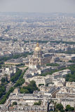 Invalides dom, Paris Royalty Free Stock Photography