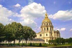 Invalides en París Fotografía de archivo