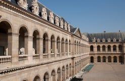 Invalides kąt w Paryż Zdjęcie Royalty Free