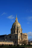The Invalides museum. In Paris  is the burial place for many great French soldiers, including Napoleon Royalty Free Stock Photos
