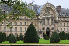 Invalides Palace main entrance Stock Images