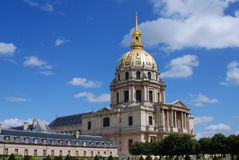 Invalides a Parigi Fotografia Stock
