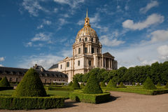 Invalides - Paris Stockbild