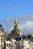 The Invalides in Paris Stock Photography
