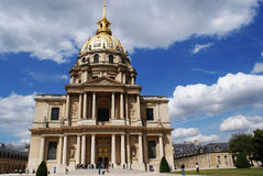 Invalides in Paris Royalty Free Stock Photography
