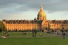 Invalides Paris Royalty Free Stock Image