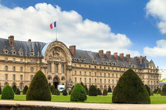 Invalides spring flag Stock Photo