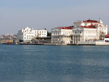 Invallning av den Sevastopol staden. Royaltyfria Foton