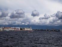 Invallning av St Petersburg arkivfoton