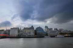 invallning london Arkivfoton