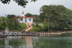 Invallning på sjötusen dollar Bassin mauritius Royaltyfri Foto