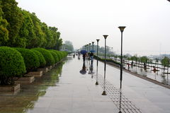 invallningflod yangtze Royaltyfri Fotografi
