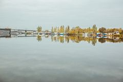 invallninggata, stad Mykolaiv Ukraina arkivfoto