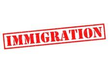 invandring royaltyfri illustrationer