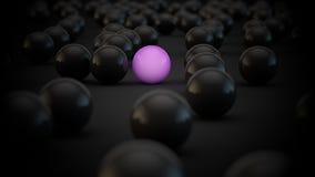 Invasão das esferas Foto de Stock Royalty Free