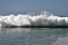 Invasión de la agua de mar Foto de archivo libre de regalías
