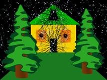 Invasión del espacio. Composición abstracta. Foto de archivo libre de regalías