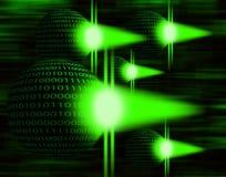 Invasion d'ordinateur Photos libres de droits