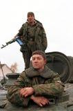 INVASION RUSSE DU CHECHENIE Image libre de droits