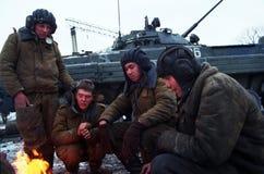 INVASION RUSSE DU CHECHENIE Photos libres de droits