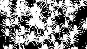 Invasion von Spinnen vektor abbildung