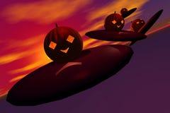 invasion1 pumpkin Στοκ φωτογραφία με δικαίωμα ελεύθερης χρήσης