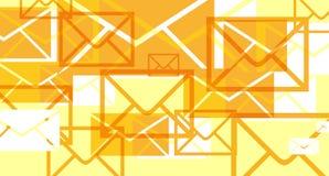 Invasioni dei email Fotografia Stock Libera da Diritti