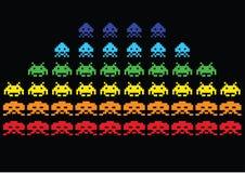 Invasores do espaço Imagem de Stock