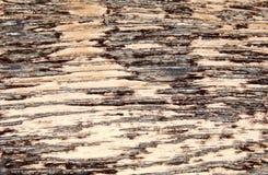 Invecchiare di legno di progettazione di struttura fatto a mano Elemento per la decorazione mobilia e dell'interno fotografie stock