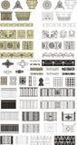 Invecklade designer Arkivbild