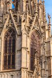 Invecklade detaljer på Barcelona Steples Royaltyfria Bilder