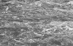 Invecklade modeller för svartvitt vatten Royaltyfri Bild