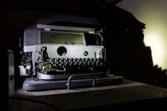Inventário abandonado do depósito Imagem de Stock