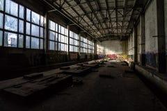 Inventário de central elétrica abandonado Fotos de Stock