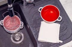 Invent?rio para pratos de lavagem fotos de stock