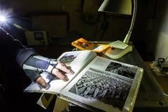 Inventario abbandonato del bunker Fotografia Stock Libera da Diritti