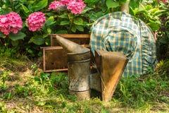 Inventario de la apicultura Fotografía de archivo libre de regalías