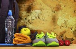 Inventario per gli sport alla parete Fotografia Stock Libera da Diritti