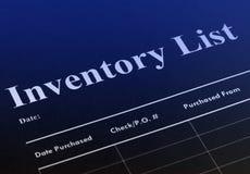Inventaris Stock Foto's
