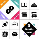 Invente le symbole d'ordinateur illustration stock