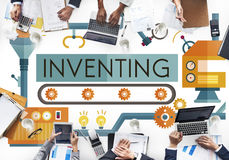 Inventing Compose Discover Production Concept Stock Photography