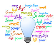 Invention bulb Stock Photography