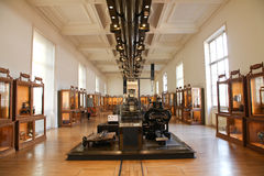 Invention museum - Paris , France. Royalty Free Stock Photography
