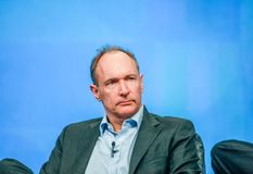 Inventor and founder of World Wide Web Sir Tim Berners-Lee Stock Image